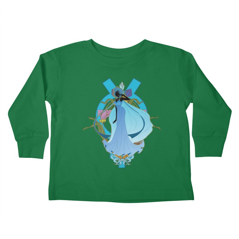 Princess Mercury Kids Toddler Longsleeve T-Shirt by MaruDashi's Artist Shop