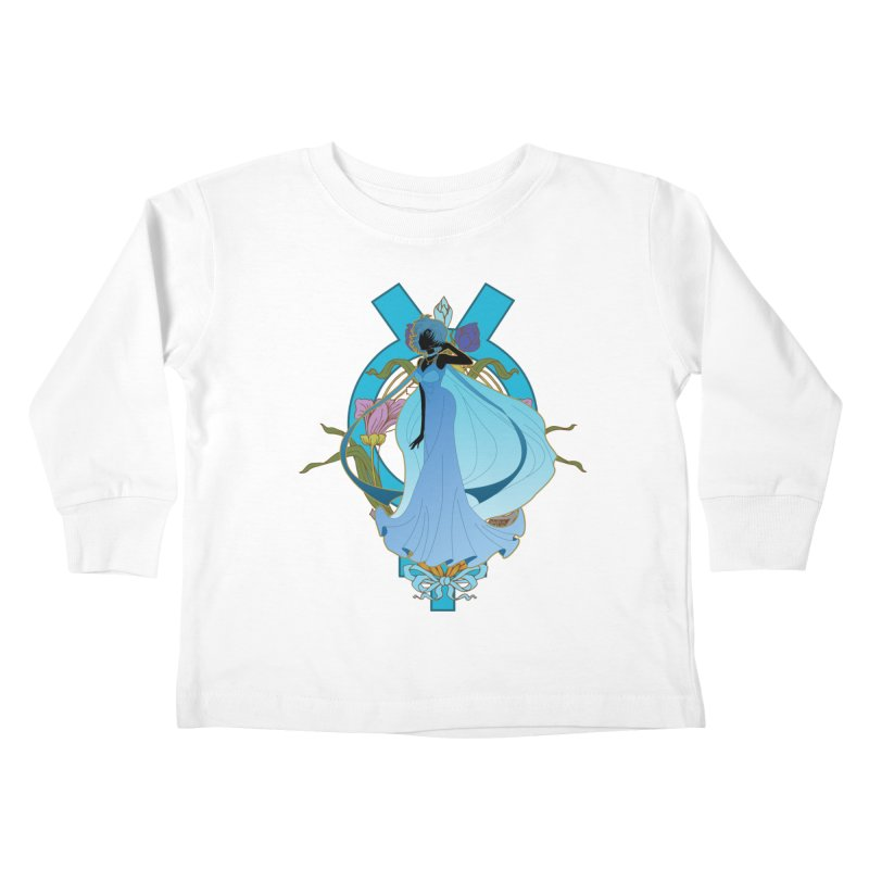 Princess Mercury Kids Toddler Longsleeve T-Shirt by MaruDashi's Artist Shop