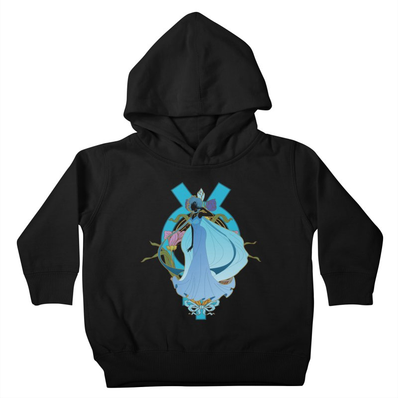 Princess Mercury Kids Toddler Pullover Hoody by MaruDashi's Artist Shop
