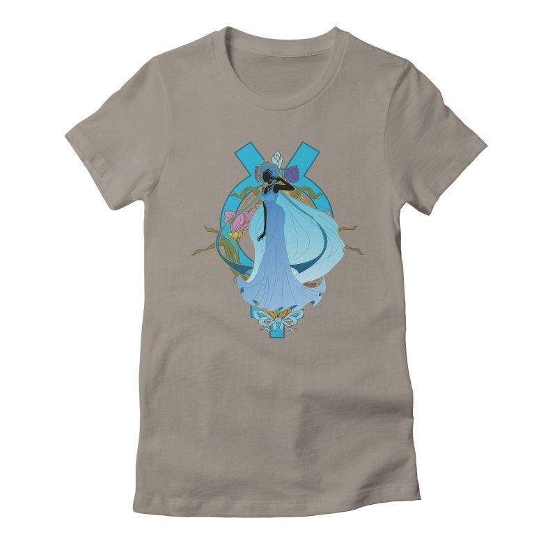 Princess Mercury Women's Fitted T-Shirt by MaruDashi's Artist Shop