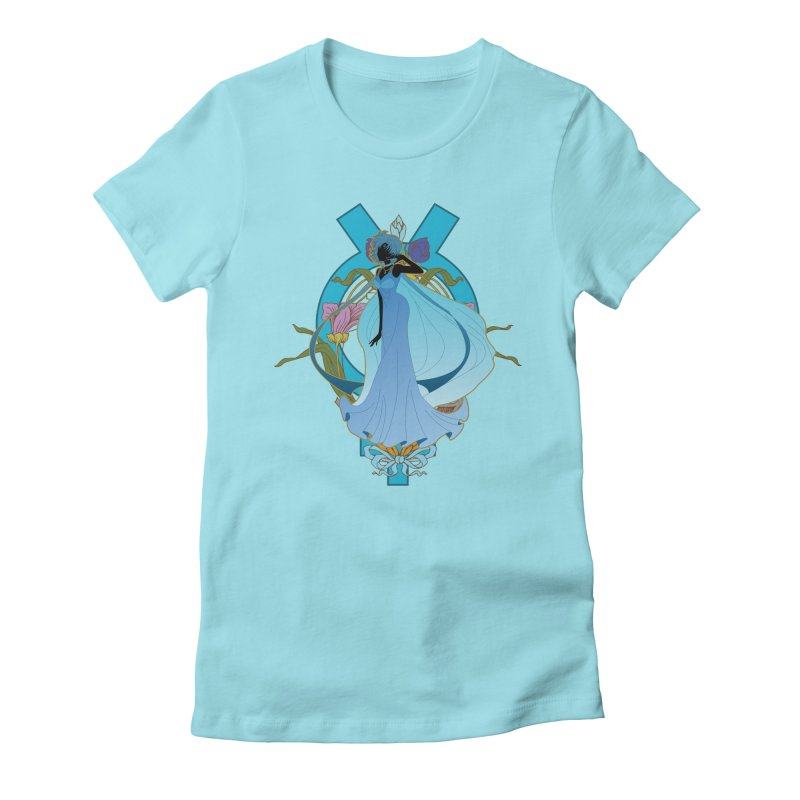 Princess Mercury Women's Fitted T-Shirt by MaruDashi's Artist Shop
