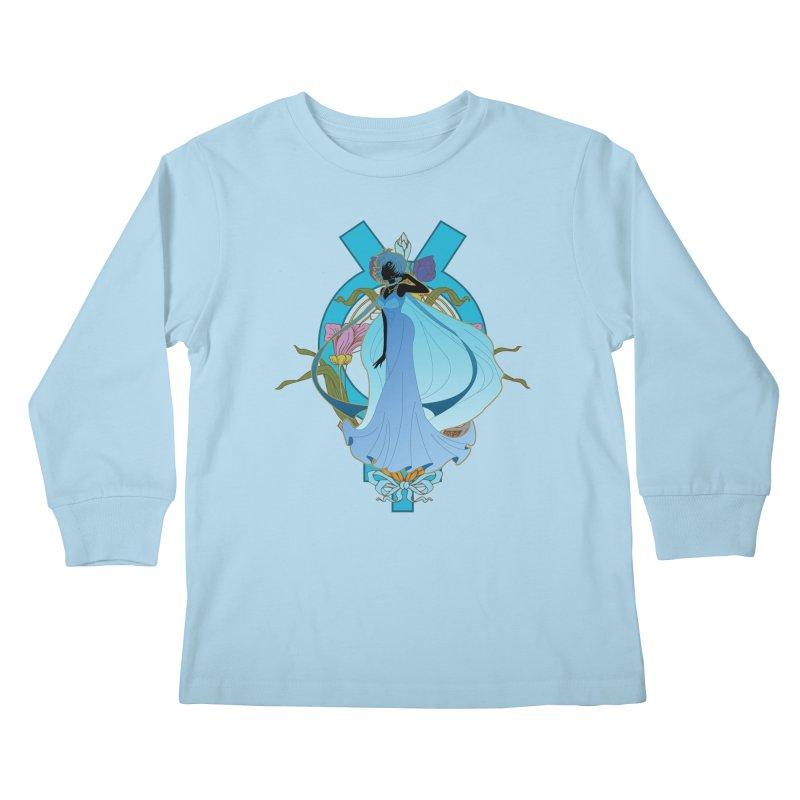 Princess Mercury Kids Longsleeve T-Shirt by MaruDashi's Artist Shop