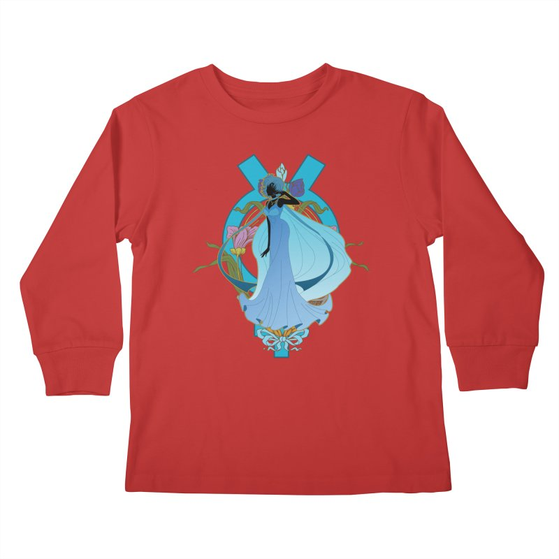 Princess Mercury Kids Longsleeve T-Shirt by MaruDashi's Artist Shop