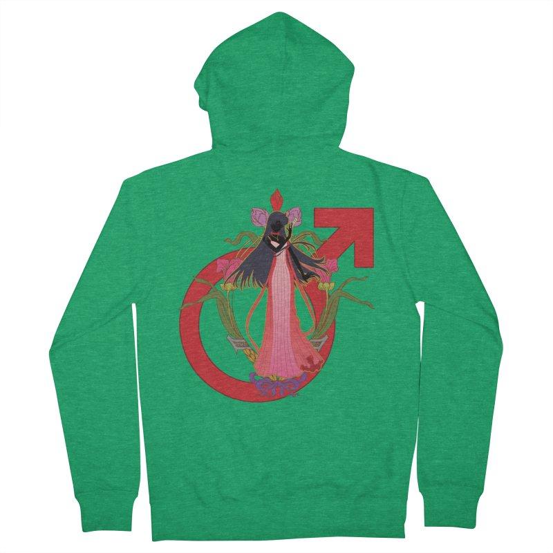 Princess Mars Women's Zip-Up Hoody by MaruDashi's Artist Shop
