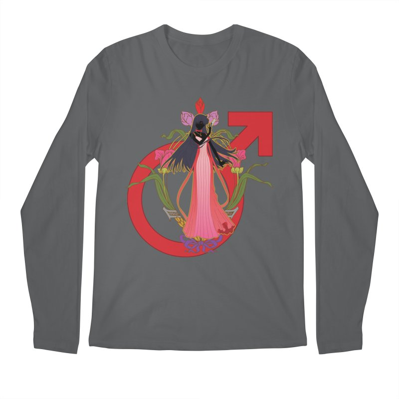 Princess Mars Men's Longsleeve T-Shirt by MaruDashi's Artist Shop