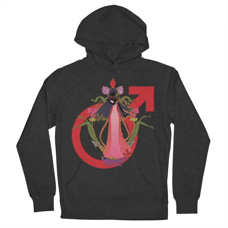 Princess Mars Women's French Terry Pullover Hoody by MaruDashi's Artist Shop