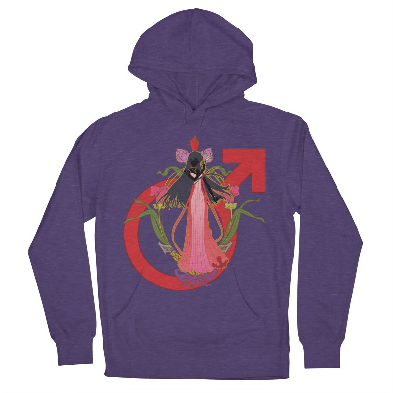 Princess Mars Men's French Terry Pullover Hoody by MaruDashi's Artist Shop