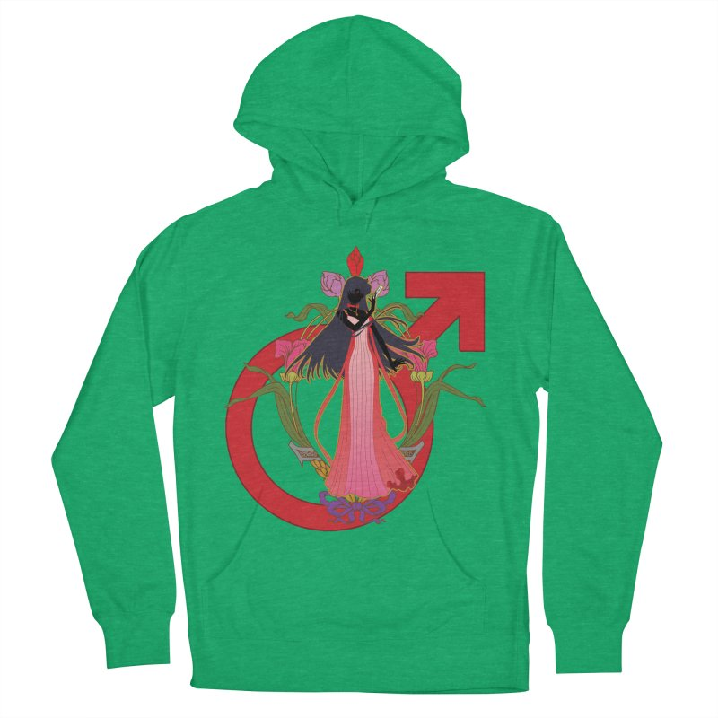 Princess Mars Men's Pullover Hoody by MaruDashi's Artist Shop