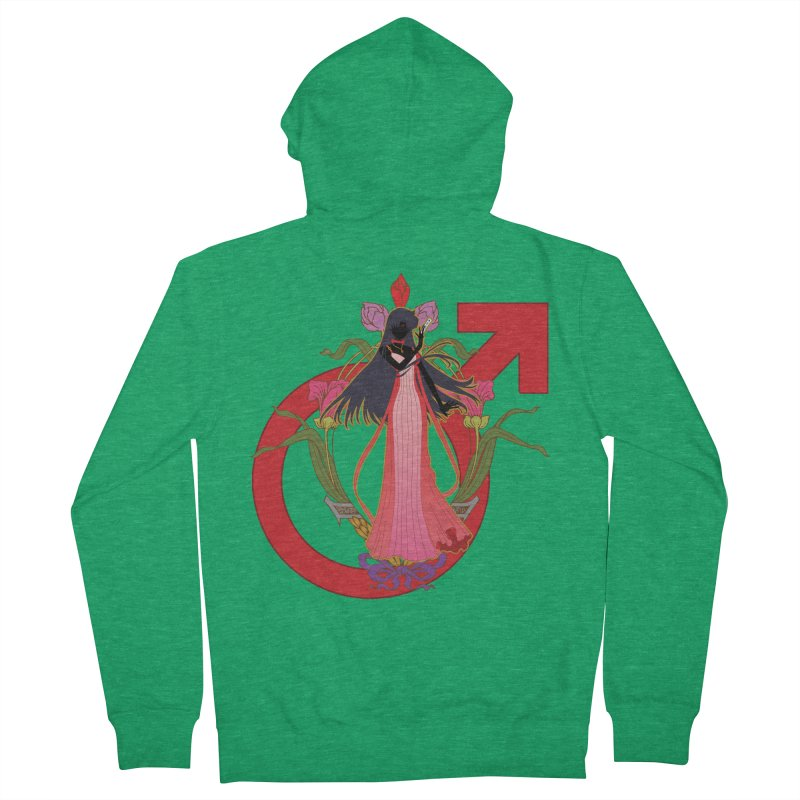 Princess Mars Men's Zip-Up Hoody by MaruDashi's Artist Shop
