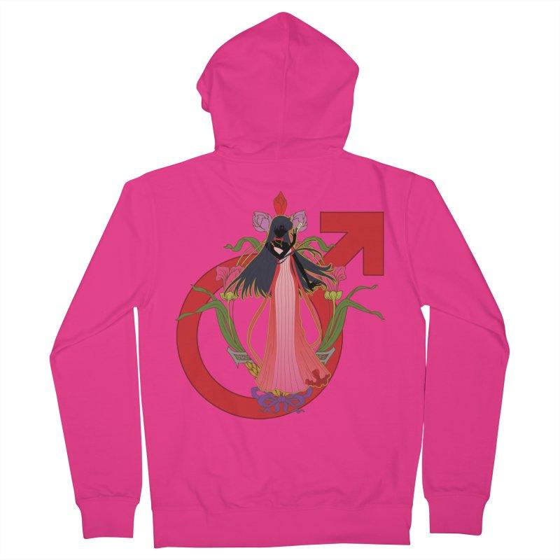 Princess Mars Men's Zip-Up Hoody by MaruDashi's Artist Shop