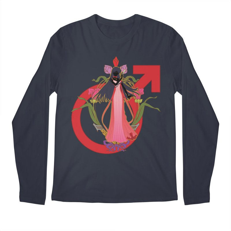 Princess Mars Men's Regular Longsleeve T-Shirt by MaruDashi's Artist Shop