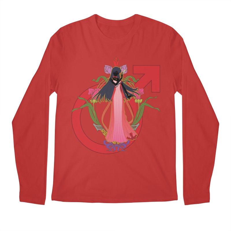 Princess Mars Men's Regular Longsleeve T-Shirt by MaruDashi's Artist Shop