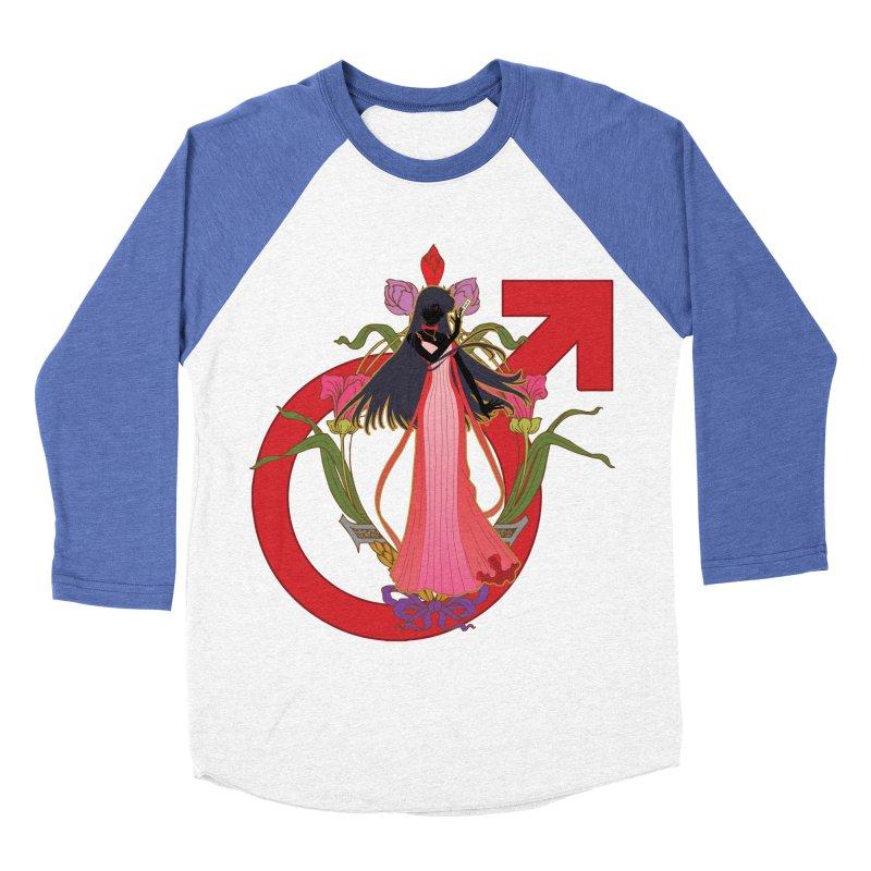 Princess Mars Women's Baseball Triblend T-Shirt by MaruDashi's Artist Shop