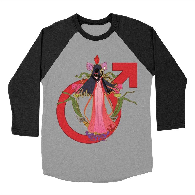 Princess Mars Women's Baseball Triblend Longsleeve T-Shirt by MaruDashi's Artist Shop