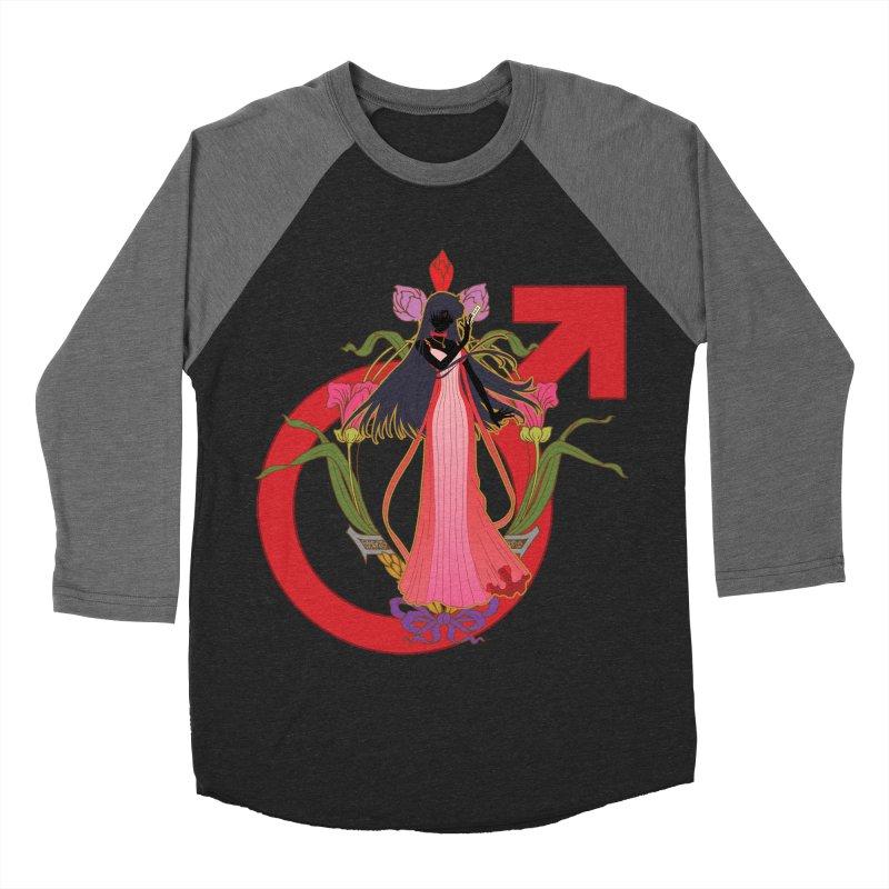 Princess Mars Men's Baseball Triblend T-Shirt by MaruDashi's Artist Shop