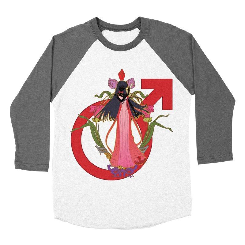 Princess Mars Men's Baseball Triblend Longsleeve T-Shirt by MaruDashi's Artist Shop