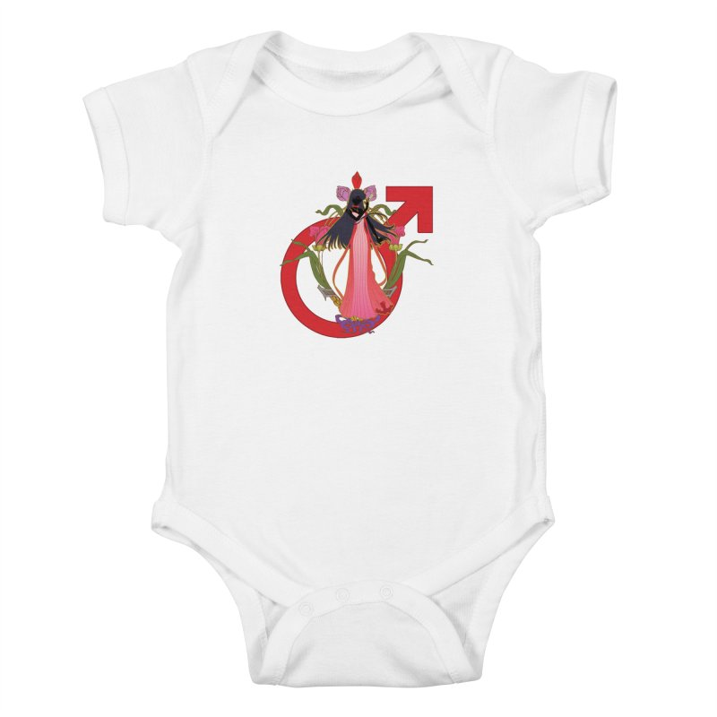Princess Mars Kids Baby Bodysuit by MaruDashi's Artist Shop