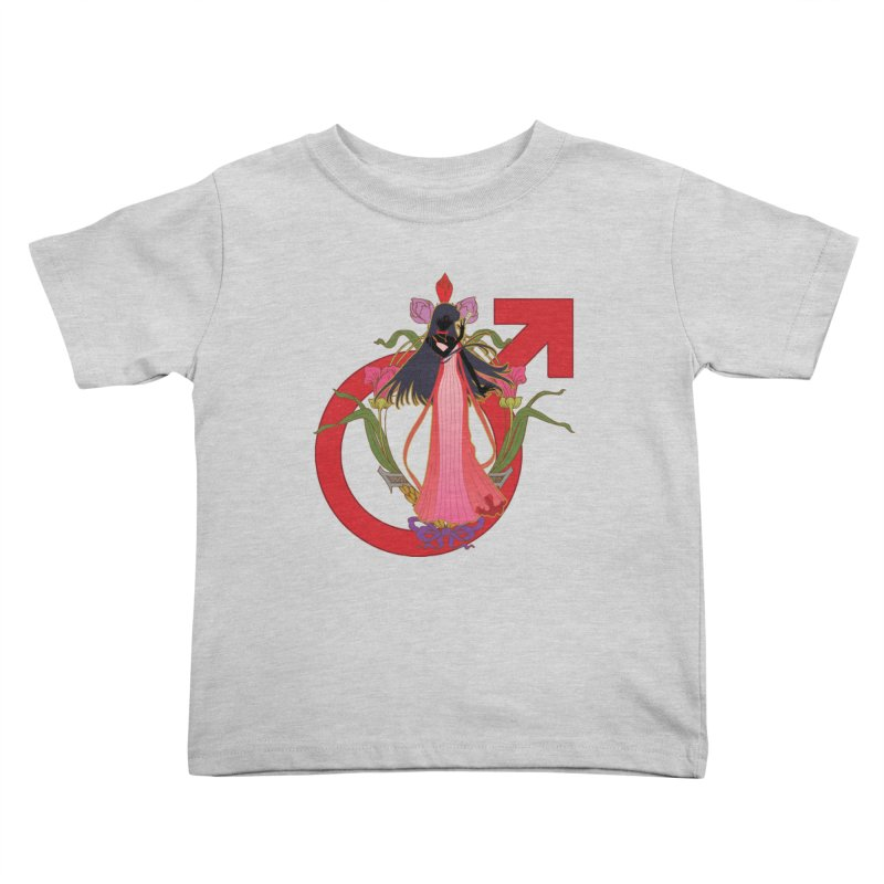 Princess Mars Kids Toddler T-Shirt by MaruDashi's Artist Shop