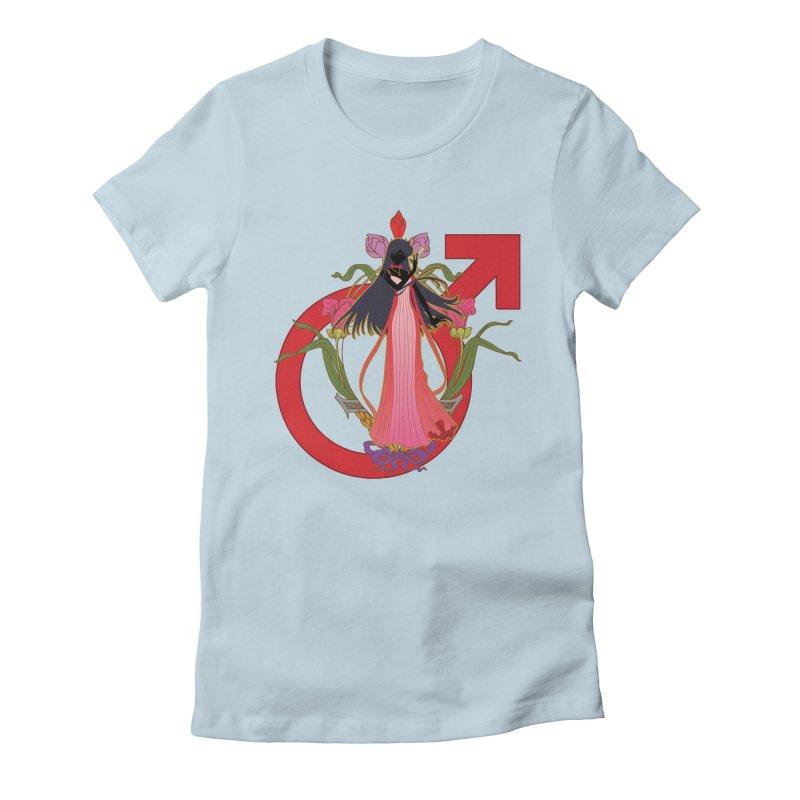 Princess Mars Women's T-Shirt by MaruDashi's Artist Shop