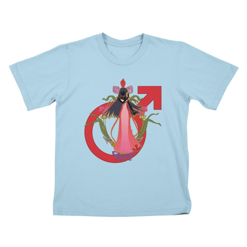 Princess Mars Kids T-Shirt by MaruDashi's Artist Shop