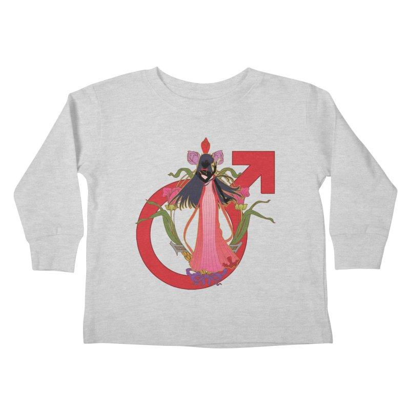 Princess Mars Kids Toddler Longsleeve T-Shirt by MaruDashi's Artist Shop