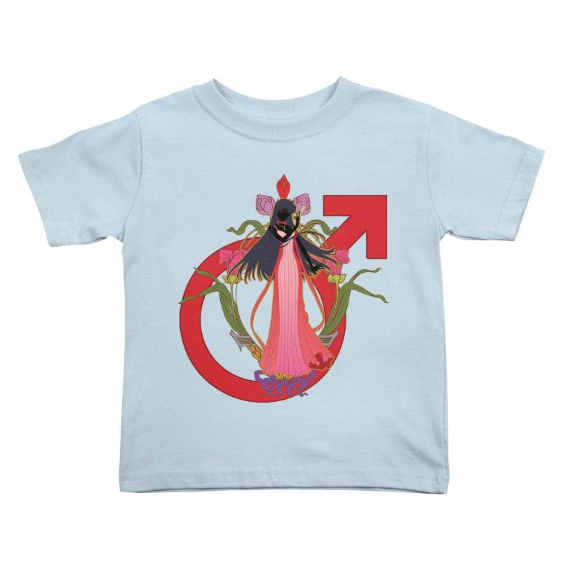 Princess Mars Kids Toddler T-Shirt by MaruDashi's Artist Shop