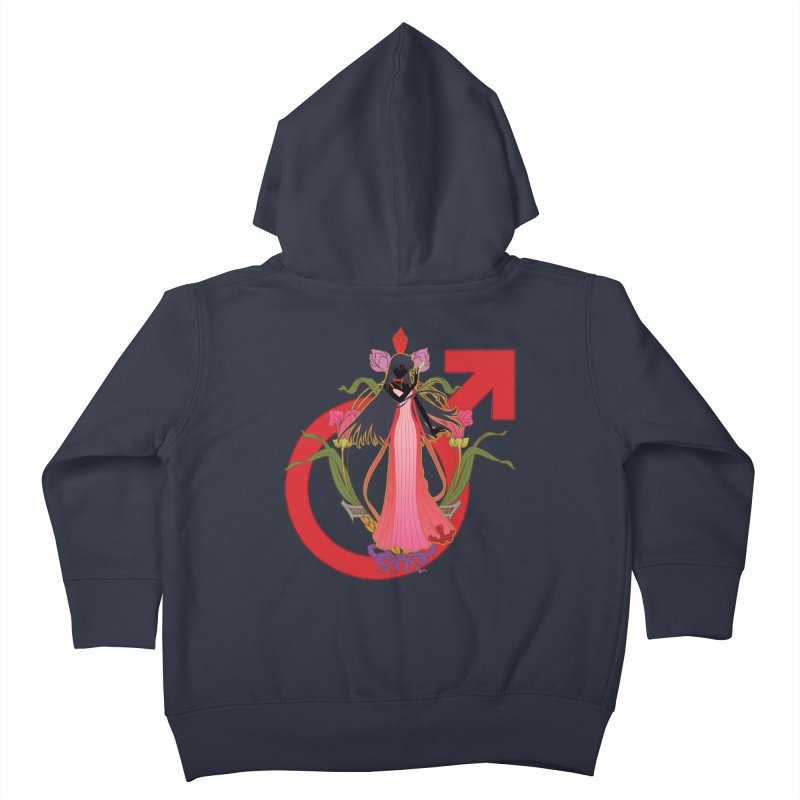 Princess Mars Kids Toddler Zip-Up Hoody by MaruDashi's Artist Shop