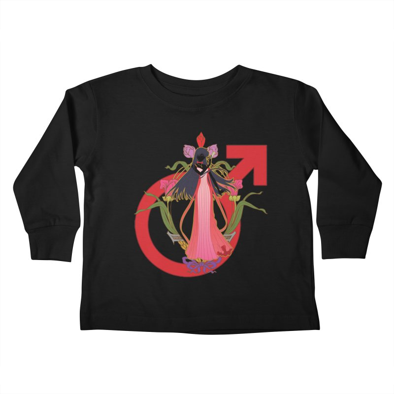 Princess Mars Kids Toddler Longsleeve T-Shirt by MaruDashi's Artist Shop