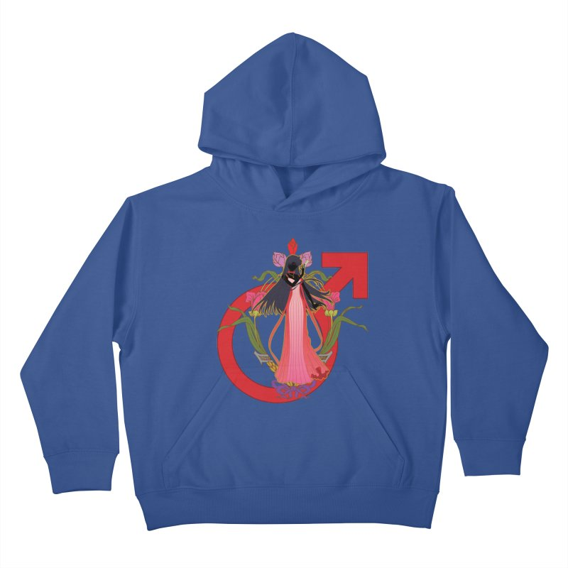 Princess Mars Kids Pullover Hoody by MaruDashi's Artist Shop