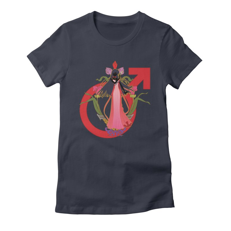 Princess Mars Women's T-Shirt by MaruDashi's Artist Shop