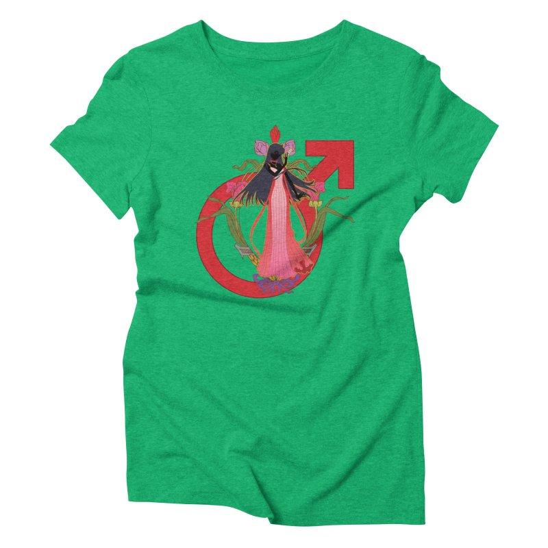 Princess Mars Women's Triblend T-Shirt by MaruDashi's Artist Shop