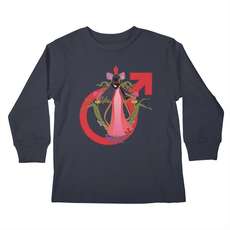 Princess Mars Kids Longsleeve T-Shirt by MaruDashi's Artist Shop