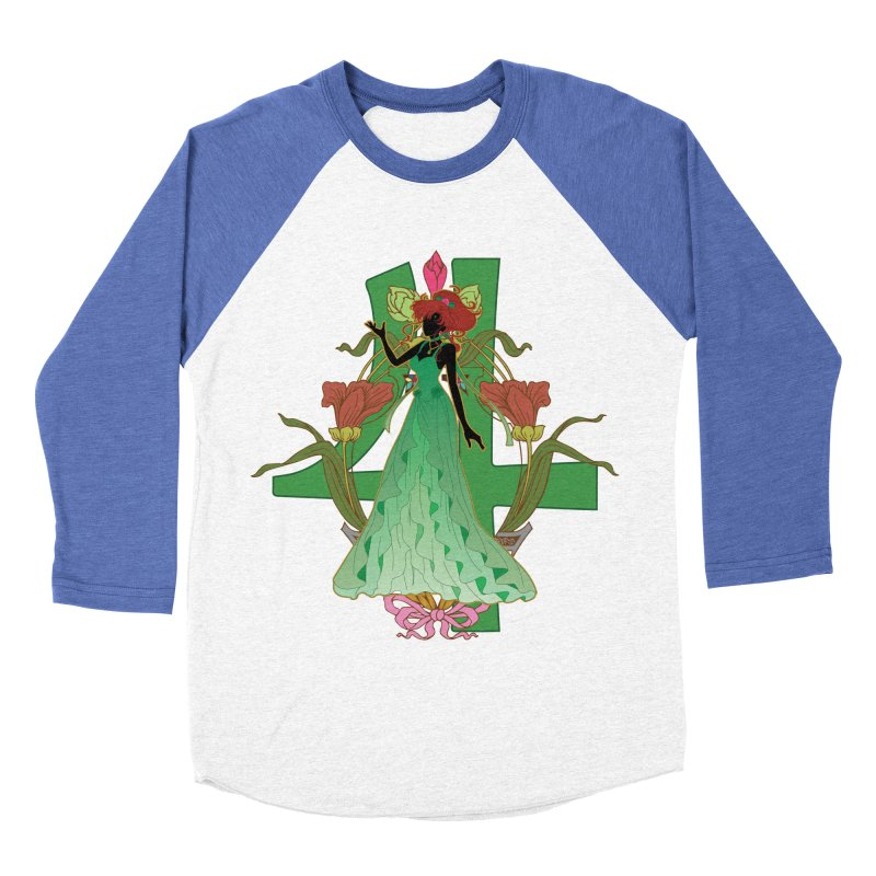 Princess Jupiter Women's Baseball Triblend T-Shirt by MaruDashi's Artist Shop