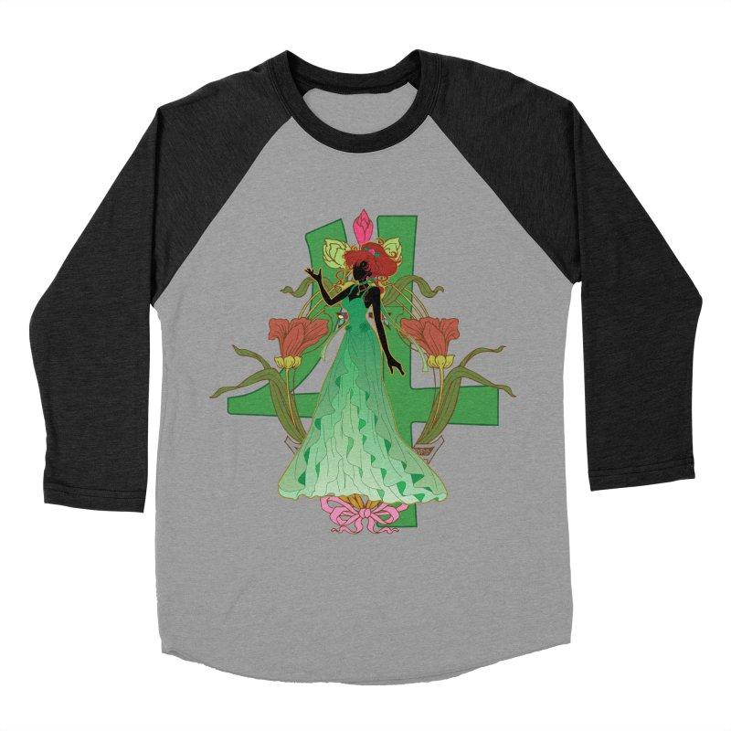 Princess Jupiter Men's Baseball Triblend Longsleeve T-Shirt by MaruDashi's Artist Shop