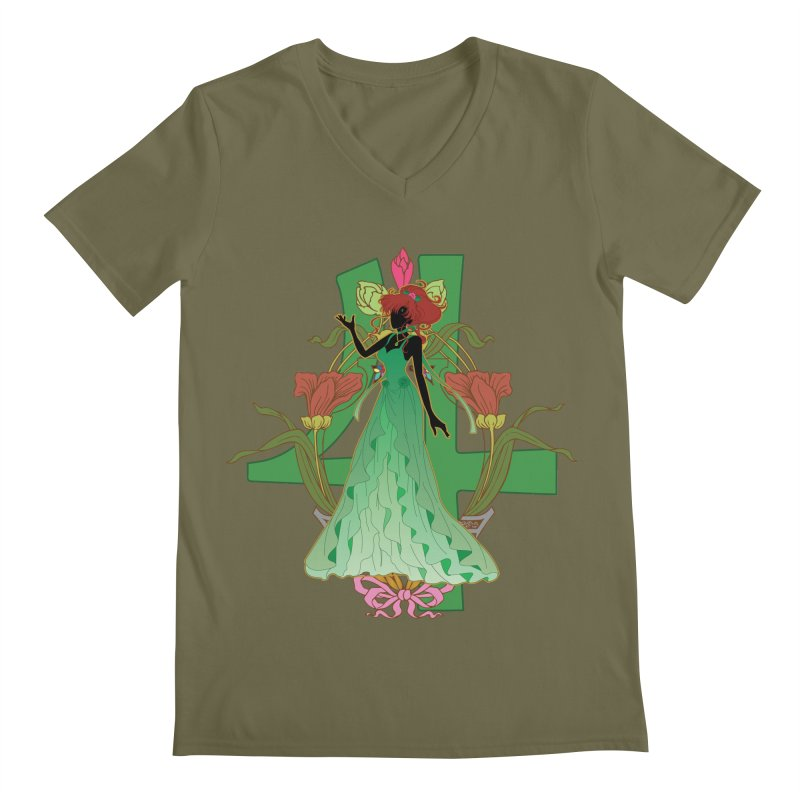Princess Jupiter Men's V-Neck by MaruDashi's Artist Shop