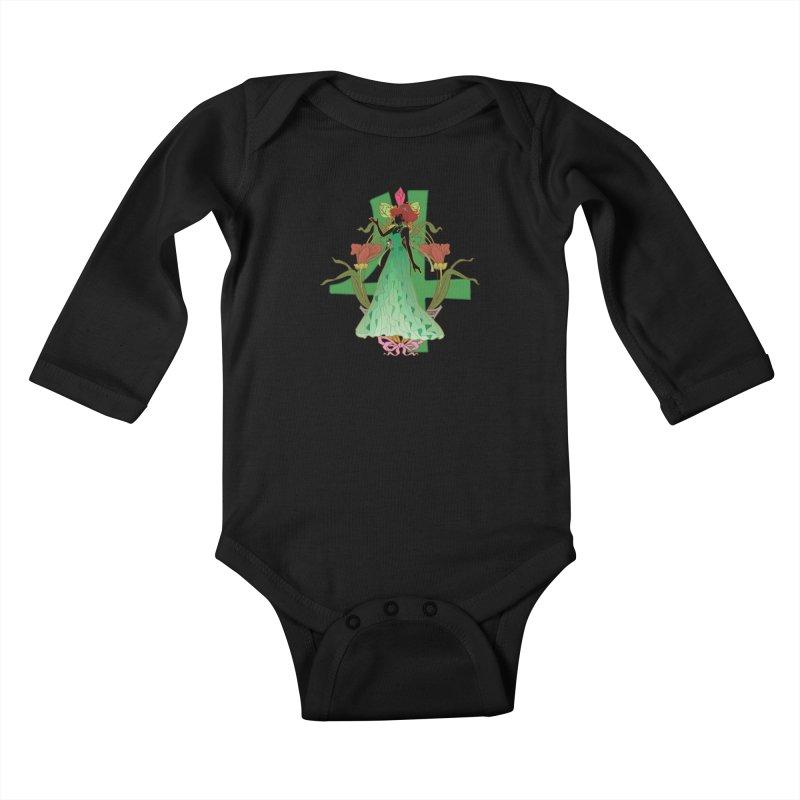 Princess Jupiter Kids Baby Longsleeve Bodysuit by MaruDashi's Artist Shop