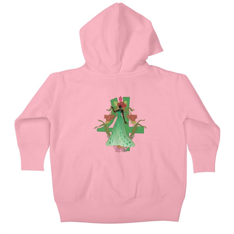 Princess Jupiter Kids Baby Zip-Up Hoody by MaruDashi's Artist Shop