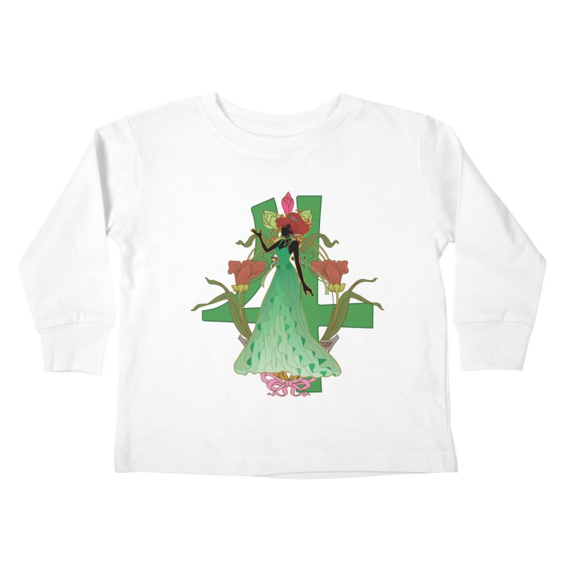 Princess Jupiter Kids Toddler Longsleeve T-Shirt by MaruDashi's Artist Shop