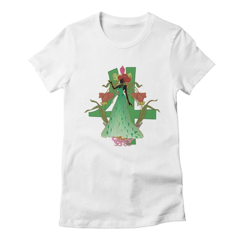 Princess Jupiter Women's Fitted T-Shirt by MaruDashi's Artist Shop