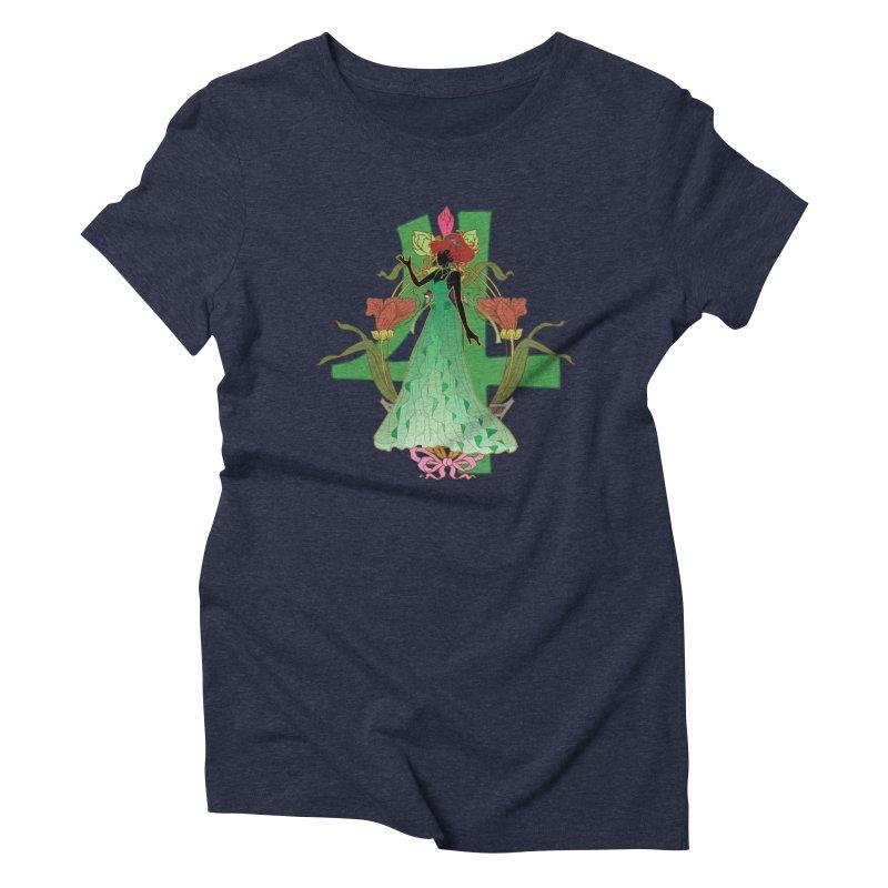 Princess Jupiter Women's Triblend T-Shirt by MaruDashi's Artist Shop