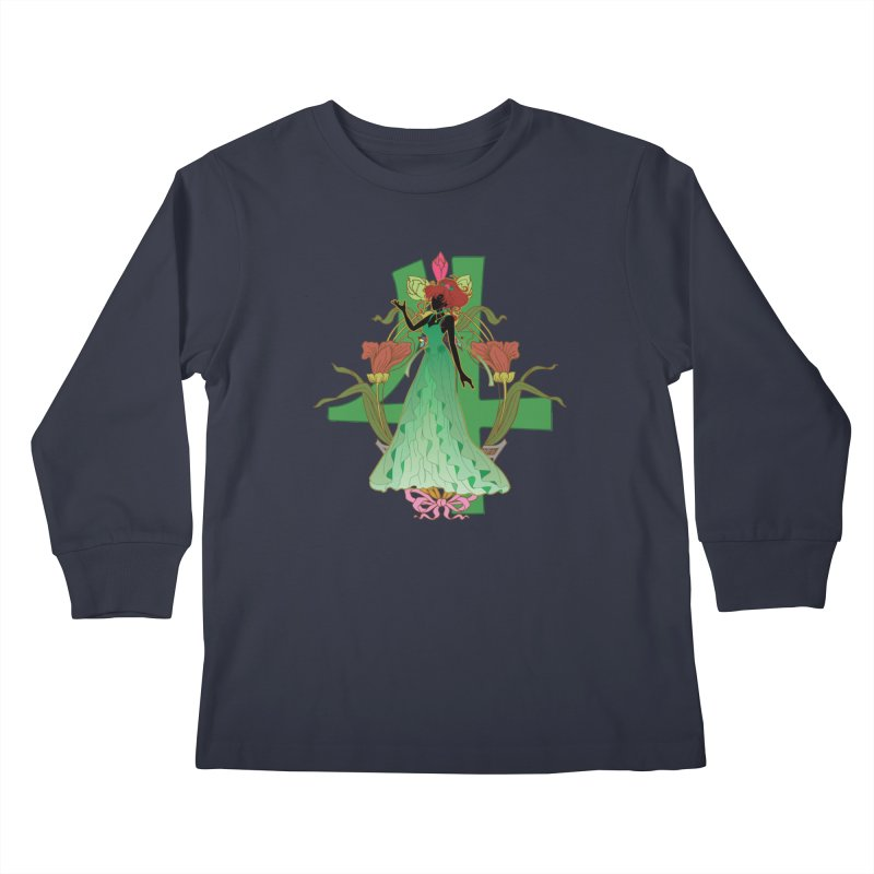 Princess Jupiter Kids Longsleeve T-Shirt by MaruDashi's Artist Shop