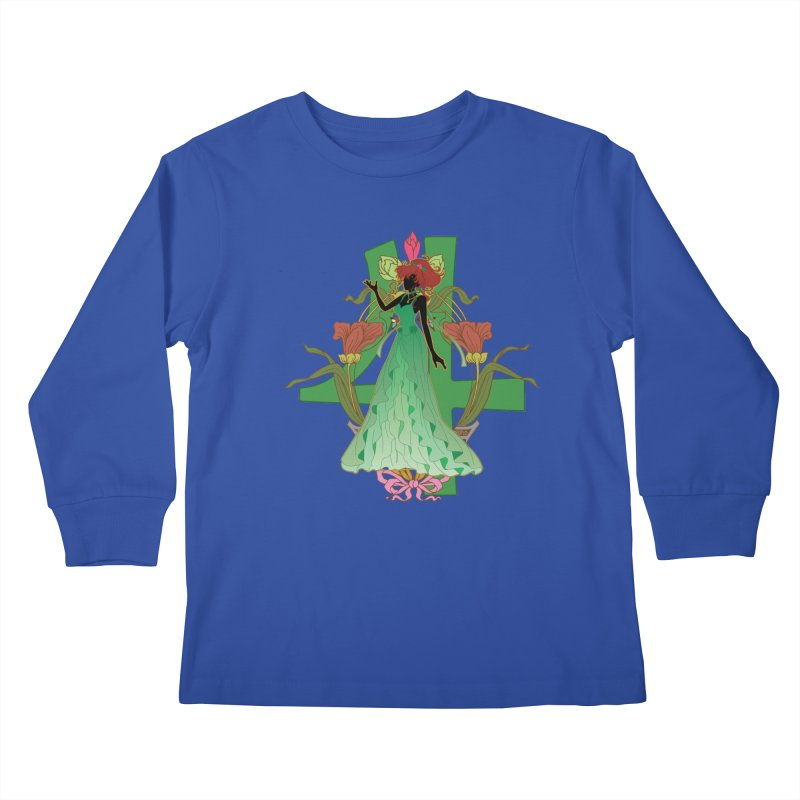 Princess Jupiter Kids Longsleeve T-Shirt by MaruDashi's Artist Shop