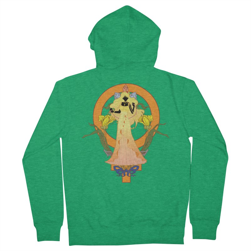 Princess Venus Men's Zip-Up Hoody by MaruDashi's Artist Shop