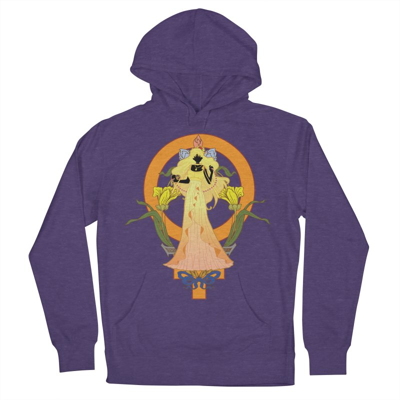 Princess Venus Women's French Terry Pullover Hoody by MaruDashi's Artist Shop