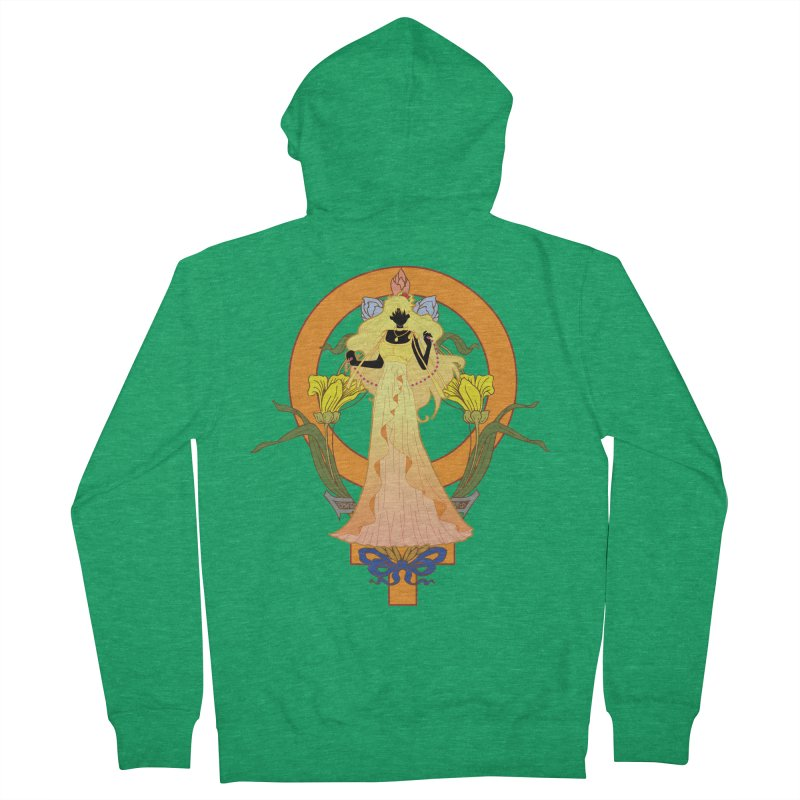Princess Venus Men's Zip-Up Hoody by MaruDashi's Artist Shop
