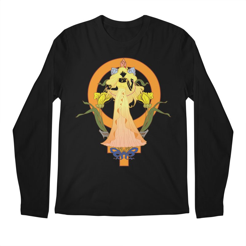 Princess Venus Men's Regular Longsleeve T-Shirt by MaruDashi's Artist Shop