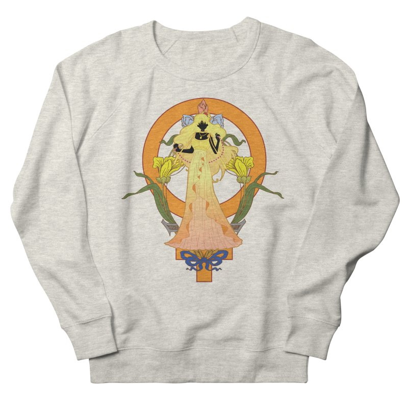 Princess Venus Men's French Terry Sweatshirt by MaruDashi's Artist Shop