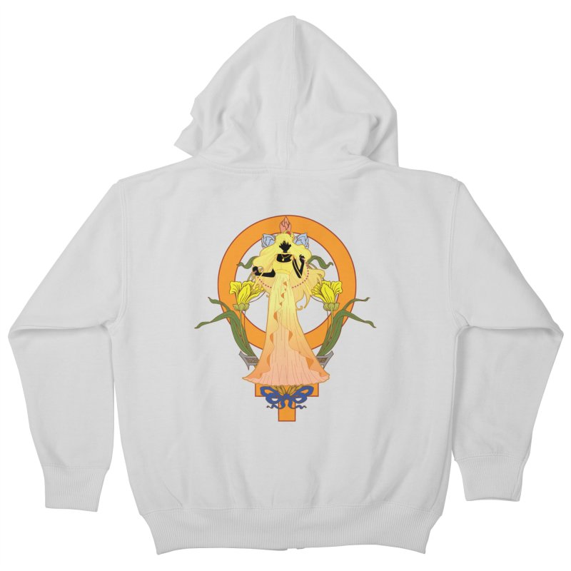 Princess Venus Kids Zip-Up Hoody by MaruDashi's Artist Shop