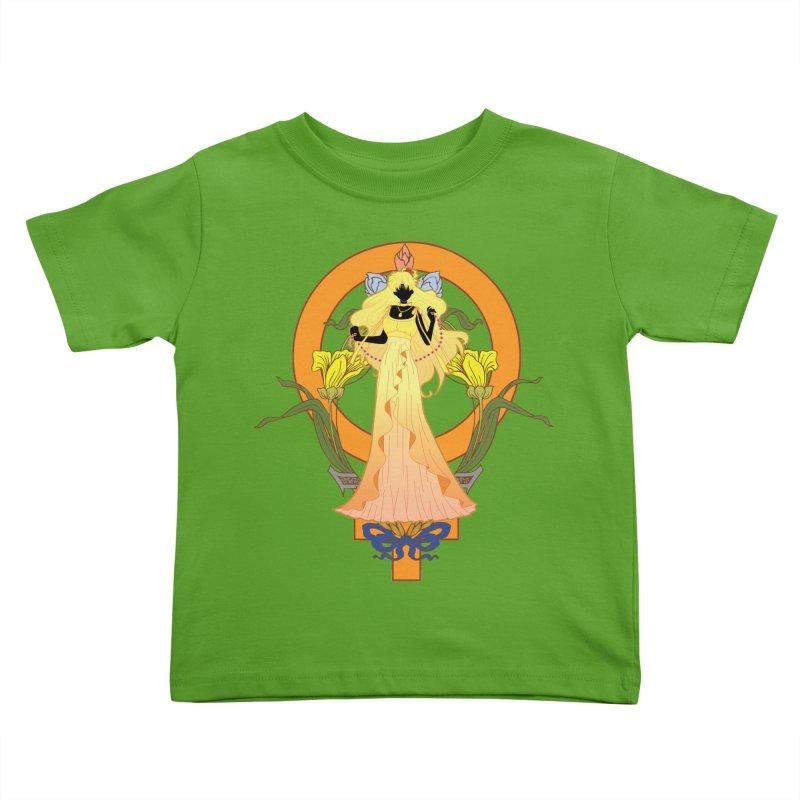 Princess Venus Kids Toddler T-Shirt by MaruDashi's Artist Shop