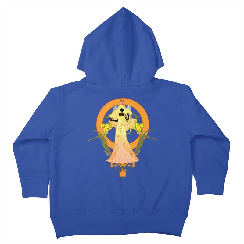 Princess Venus Kids Toddler Zip-Up Hoody by MaruDashi's Artist Shop